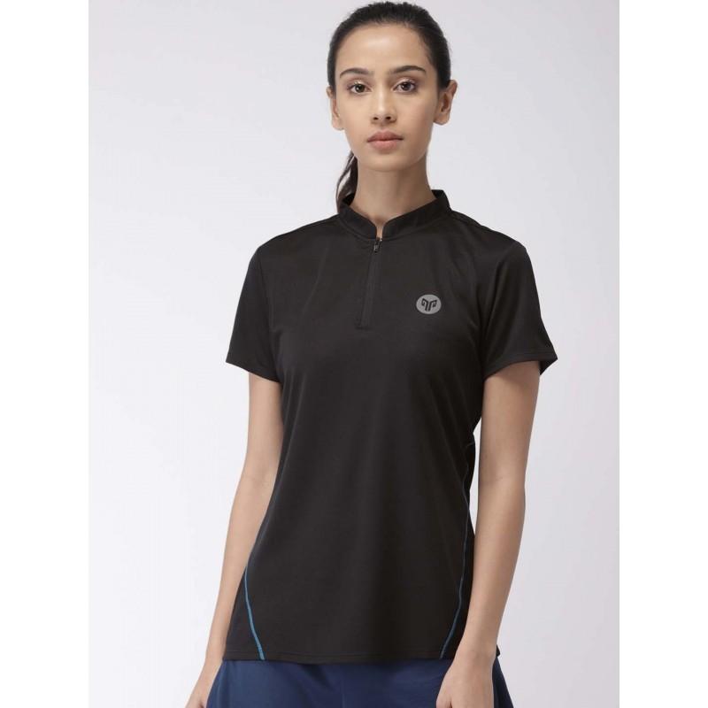 2GO Women Sports T-shirt Bold Black (EL-WTS345-S9)