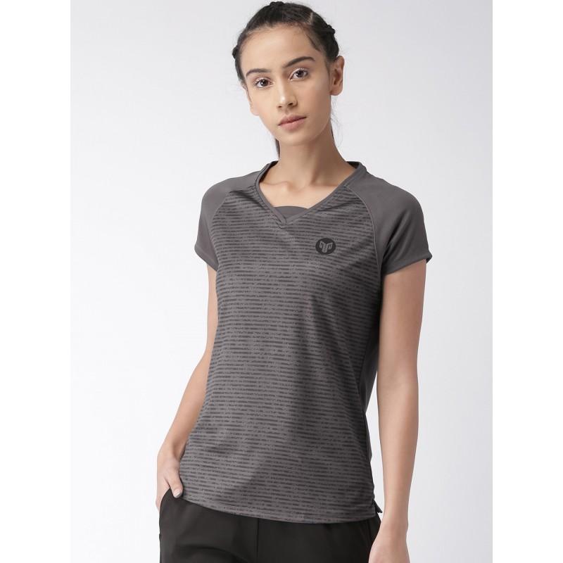 2GO Women Sports T-shirt Shark Grey (EL-WTS309-S9)