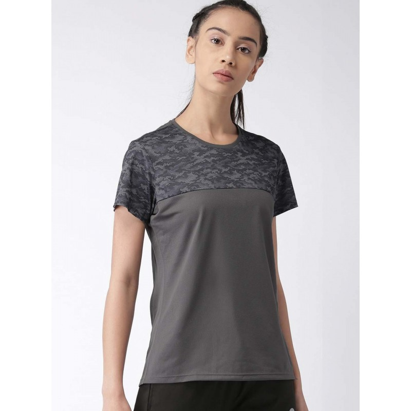 2GO Women Sports T-shirt Shark Grey (EL-WTS310-S9)
