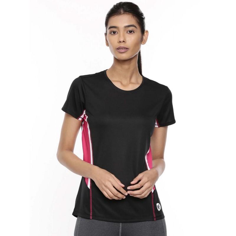 2GO Women Training T-Shirt Bold Black (EL-WTS340-A9)