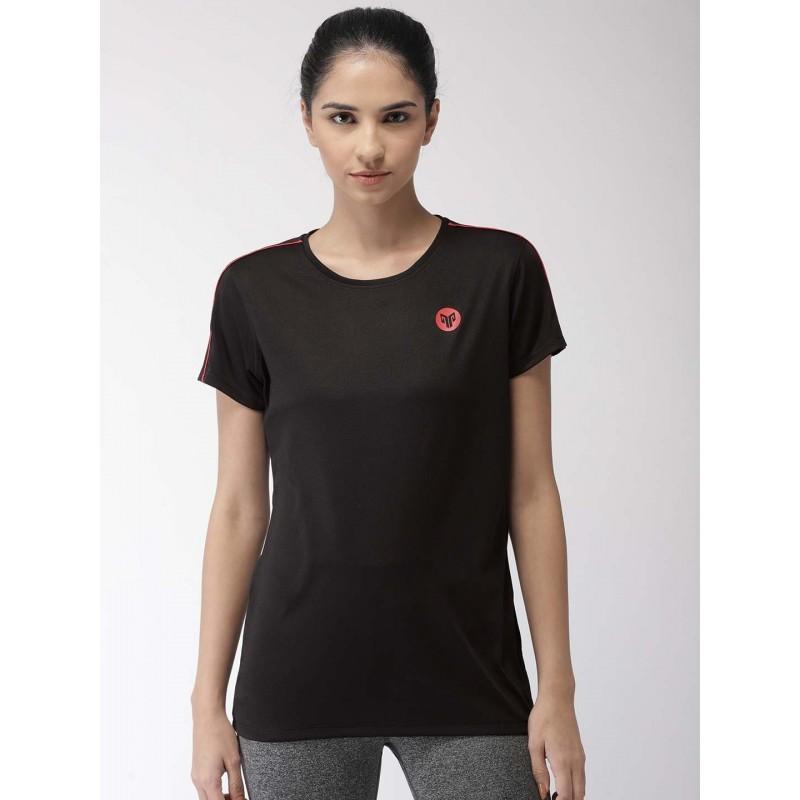 2GO Women Essential T-Shirt Bold Black (EL-WTS351-S9)