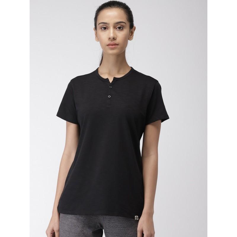 2GO Women Essential T-Shirt Bold Black (EL-WTS353-S9)