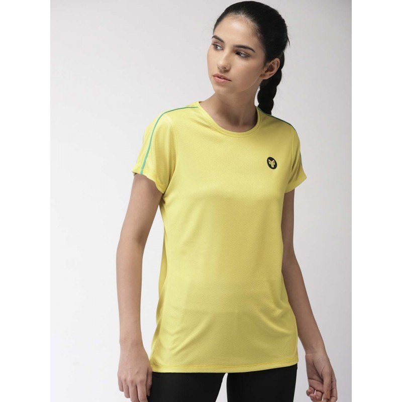 2GO Women Essential T-Shirt Corn Yellow (EL-WTS351-S9)