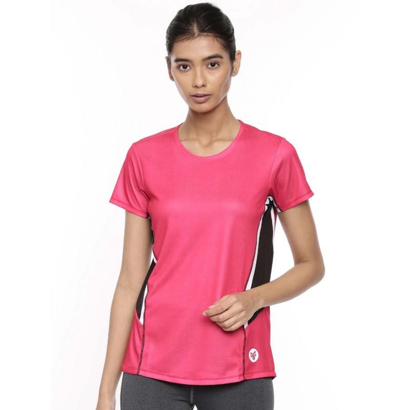 2GO Women Training T-Shirt Fuschia (EL-WTS340-A9)