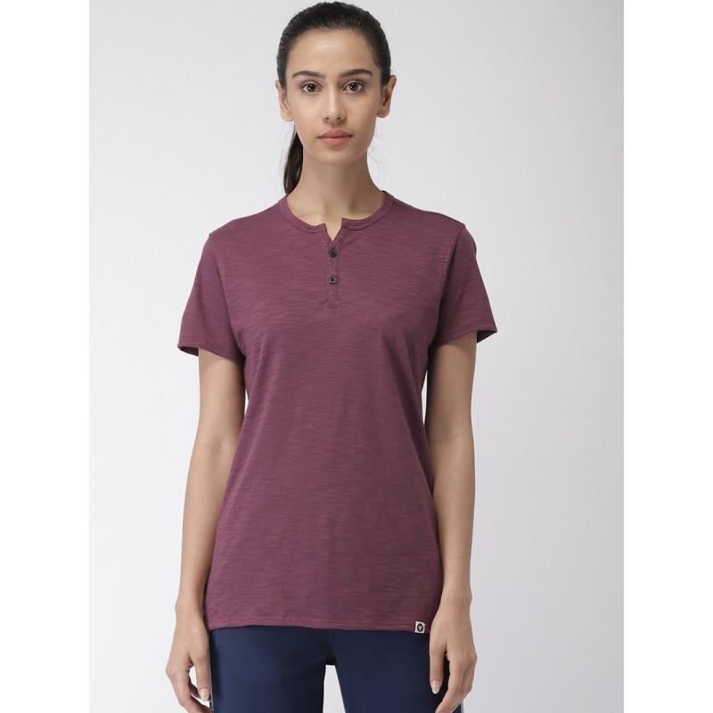 2GO Women Essential T-Shirt Mulbery (EL-WTS353-S9)