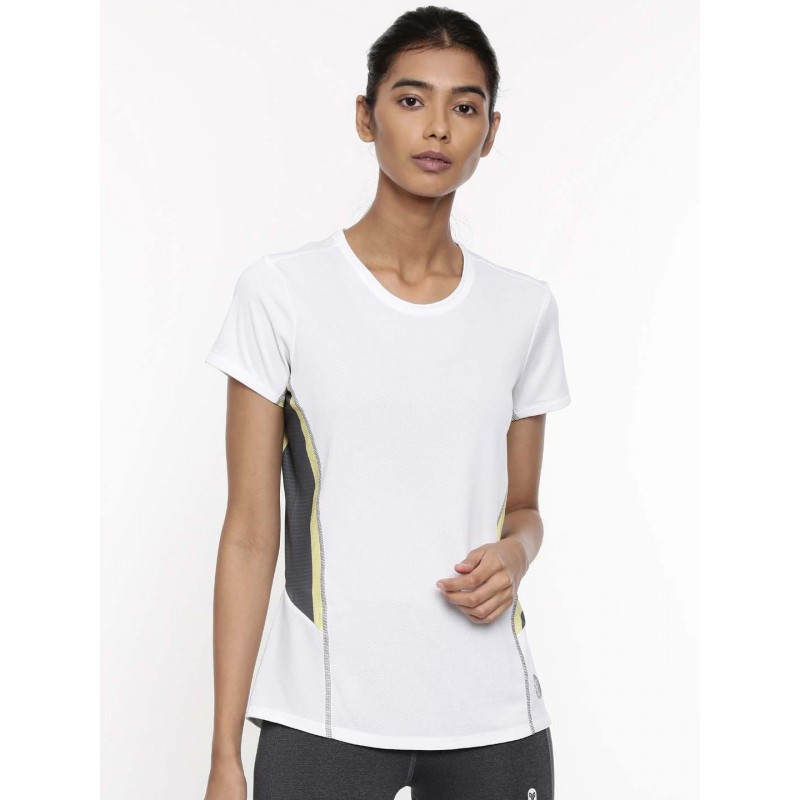 2GO Women Training T-Shirt Pace White (EL-WTS340-A9)