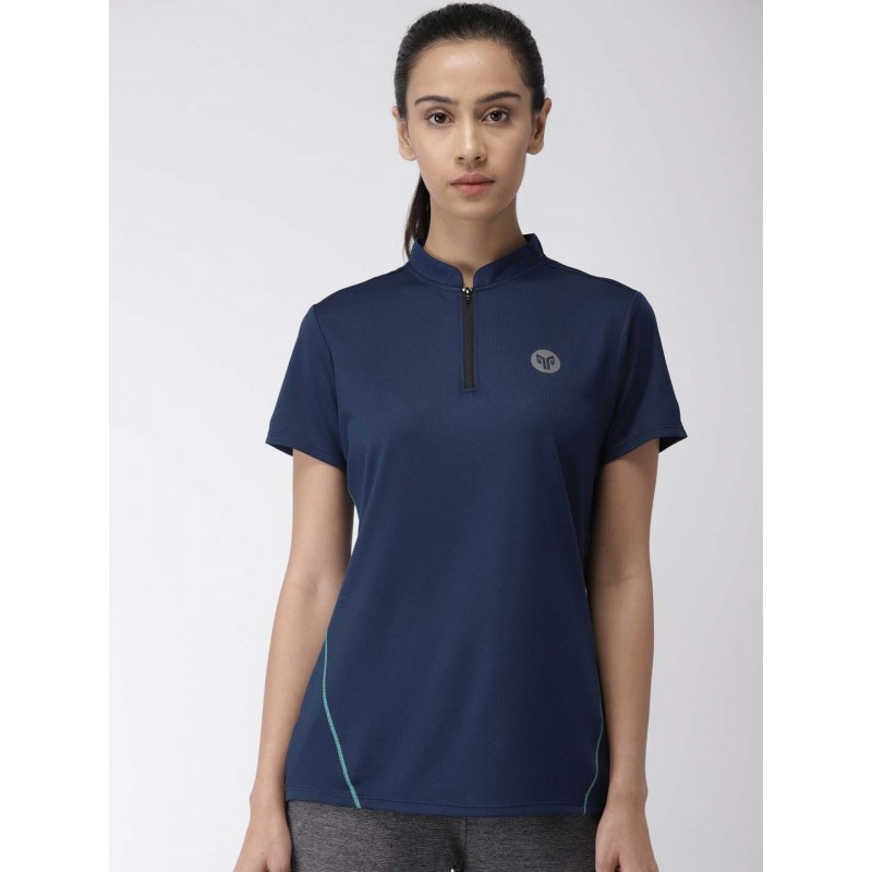 2GO Women Sports T-Shirt Prussian Blue (EL-WTS345-S9)