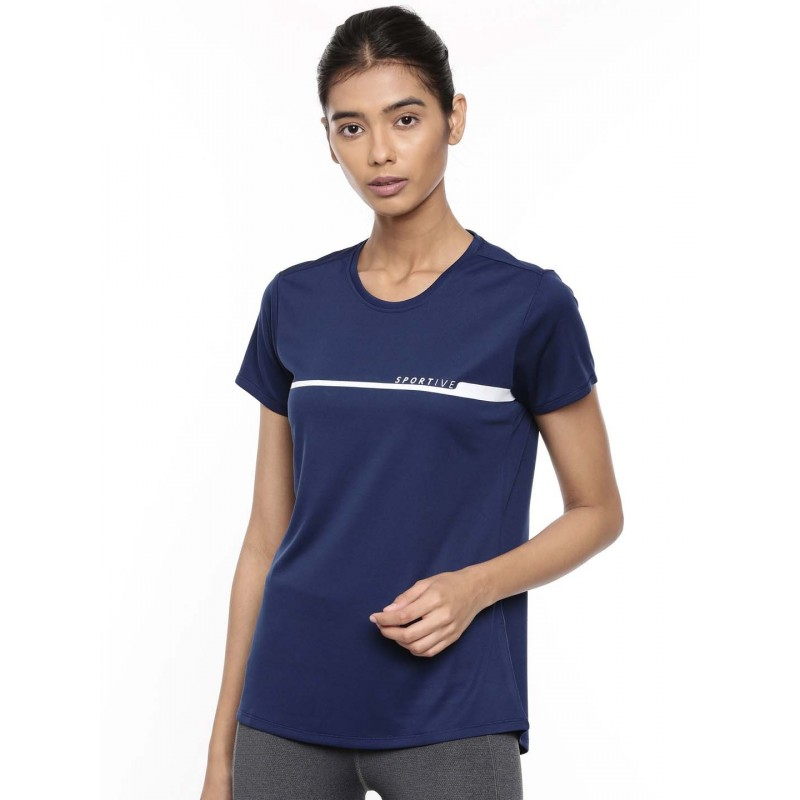 2GO Women Sports T-Shirt Prussian Blue (EL-WTS417-A9)