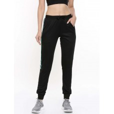 2GO Women Sports Track Pant Tall Length Bold Black (EL-WTP420-T-A9)