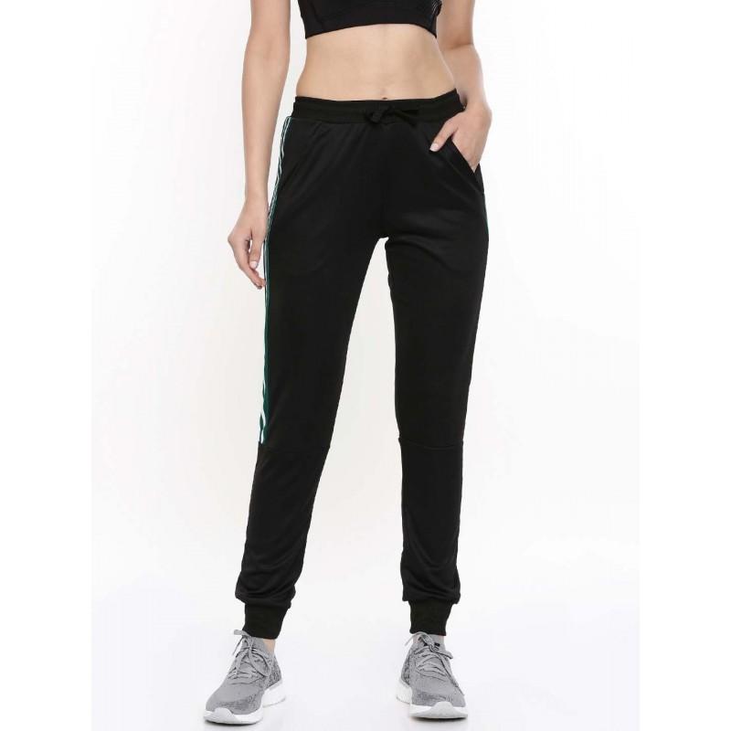 2GO Women Sports Track Pant Tall Length Bold Black (EL-WTP420-T-A9)