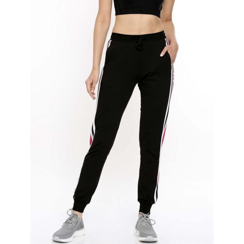 2GO Women Track Pant Tall Length Bold Black (EL-WTP421-T-A9)