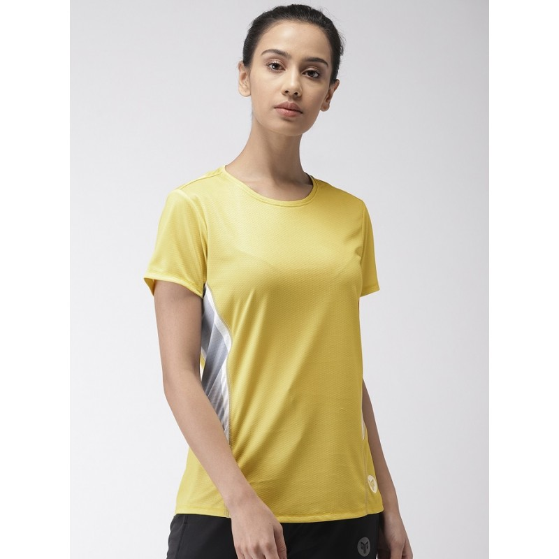 2GO Women Training T-Shirt Corn Yellow (EL-WTS340-S9)