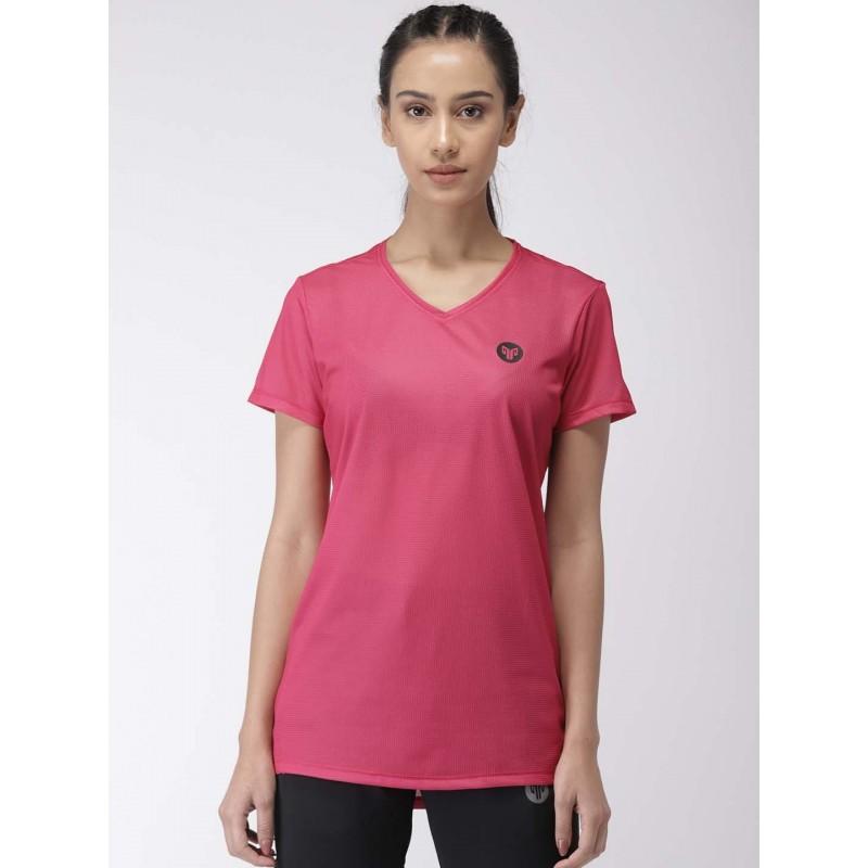 2GO Women Training T-shirt Fuchsia (EL-WTS339-S9)