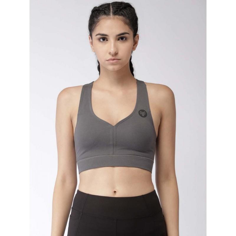 2GO Women Yoga Sports Bra Shark Grey (EL-WSB327-S9)