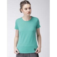2GO Women Yoga T-Shirt Aqua (EL-WTS221-A8)