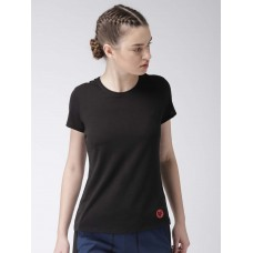 2GO Women Yoga T-Shirt Bold Black (EL-WTS221-A8)