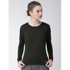 2GO Women Yoga T-Shirt Bold Black (EL-WTS223-A8)