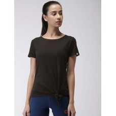 2GO Women Yoga T-Shirt Bold Black (EL-WTS348-S9)