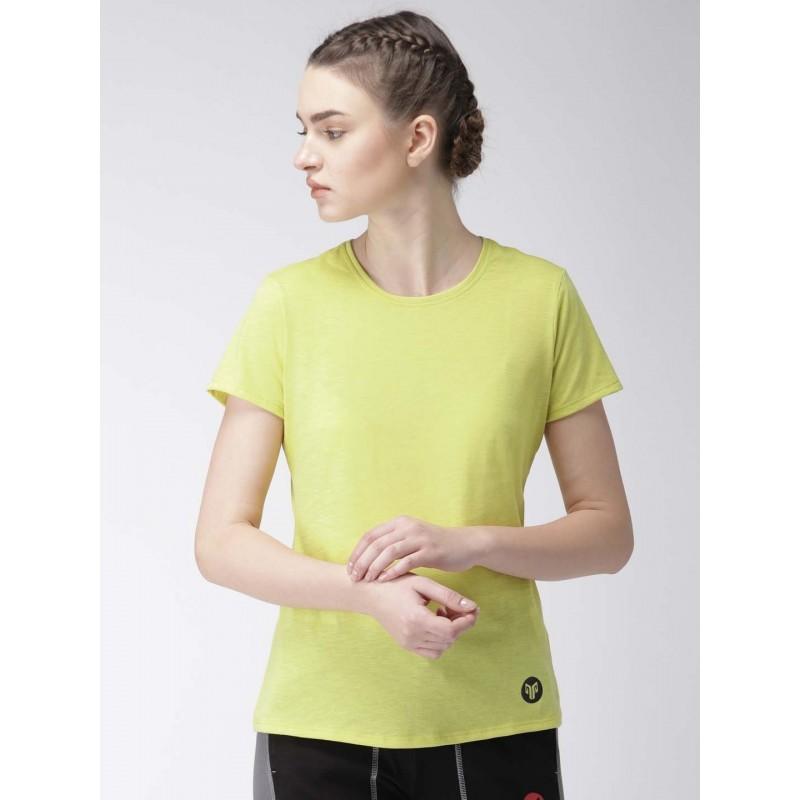 2GO Women Yoga T-Shirt Celery (EL-WTS221-A8)