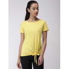 2GO Women Yoga T-Shirt Corn Yellow (EL-WTS348-S9)