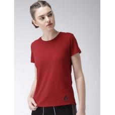 2GO Women Yoga T-Shirt Maroon (EL-WTS221-A8)