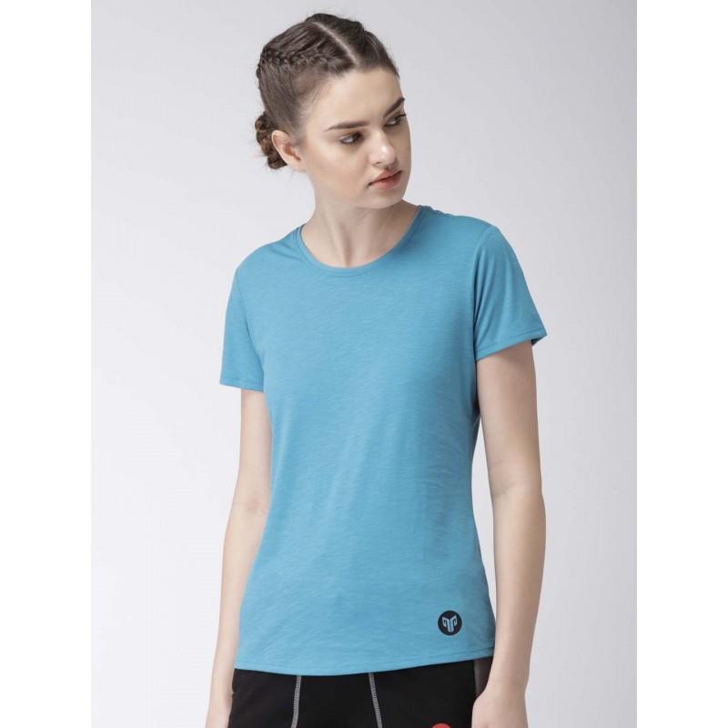 2GO Women Yoga T-Shirt Ocean (EL-WTS221-A8)