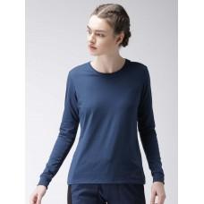 2GO Women Yoga T-Shirt Prussian Blue (EL-WTS223-A8)