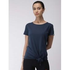 2GO Women Yoga T-Shirt Prussian Blue (EL-WTS348-S9)