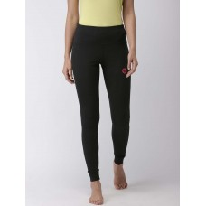 2GO Women Yoga Tights Bold Black (EL-WFT381-S9)