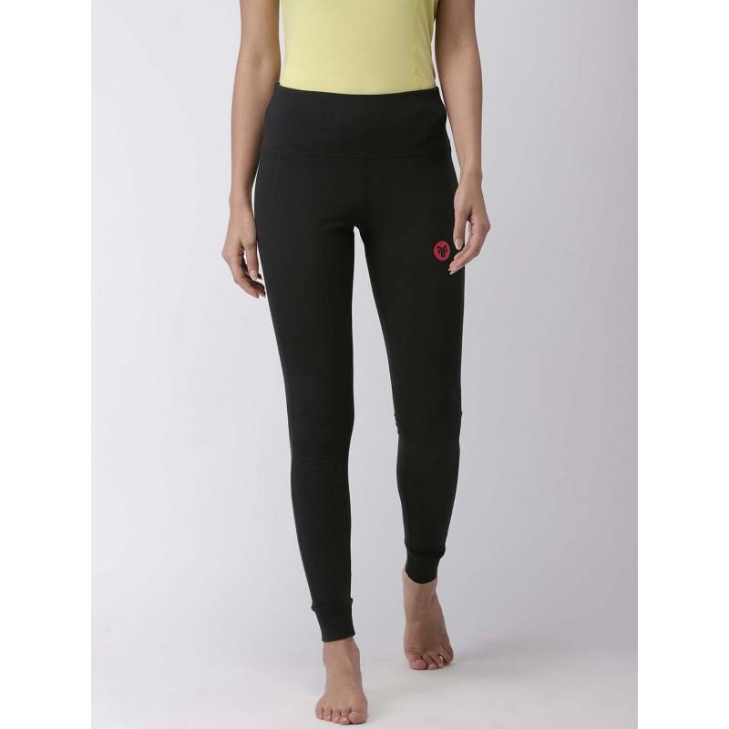 2GO Women Yoga Tights Bold Black (EL-WFT381-S9)