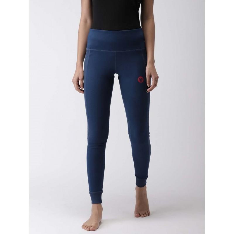 2GO Women Yoga Tights Prussian Blue (EL-WFT381-S9)
