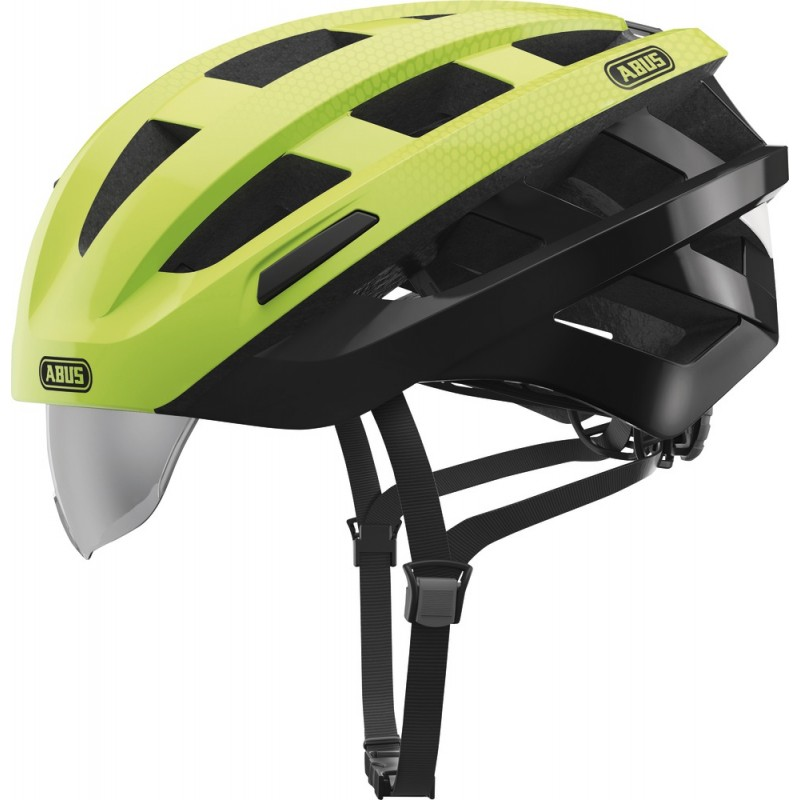 Abus In-Vizz Ascent Bike Helmet Green Comb