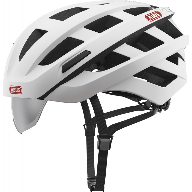 Abus In-Vizz Ascent Bike Helmet Polar Matt