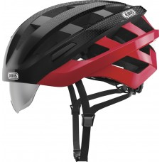 Abus In-Vizz Ascent Bike Helmet Red Comb