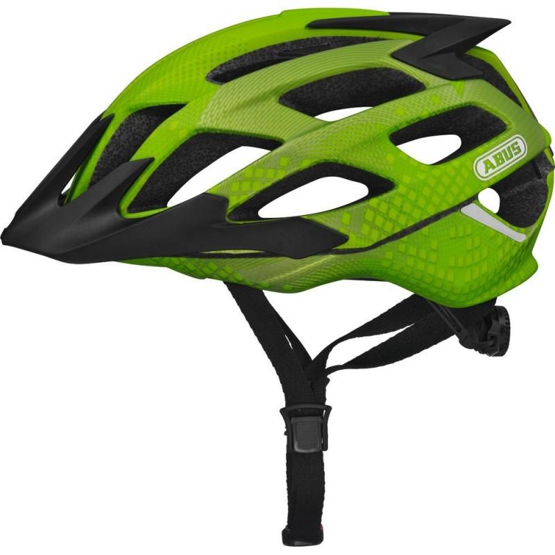 Abus Hill Bill ZoomSL Bike Helmet Apple Green,M