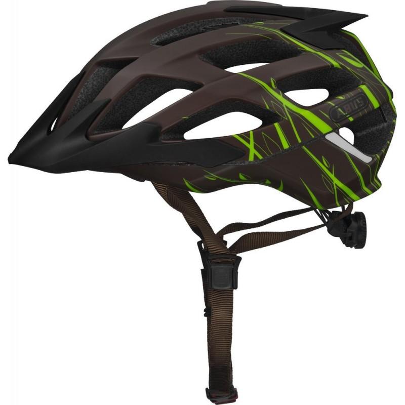 Abus Hill Bill ZoomSL Bike Helmet Grasshopper,M