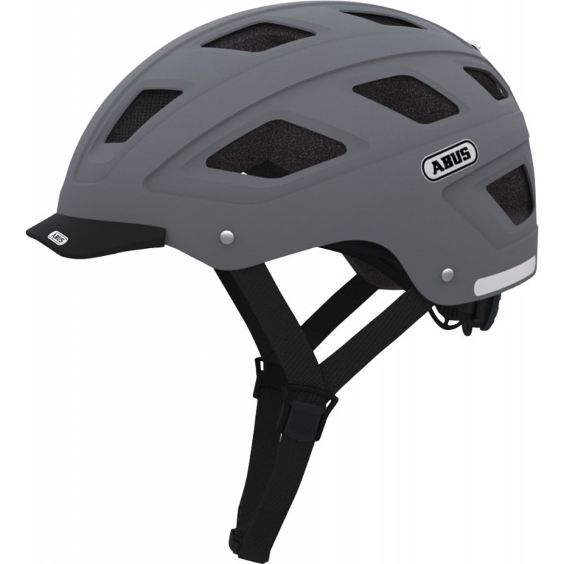 Abus Hyban Bike Helmet Concrete Grey,M