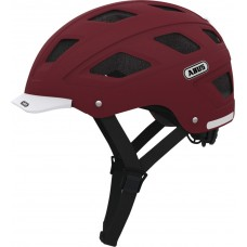 Abus Hyban Bike Helmet Marsala Red,M