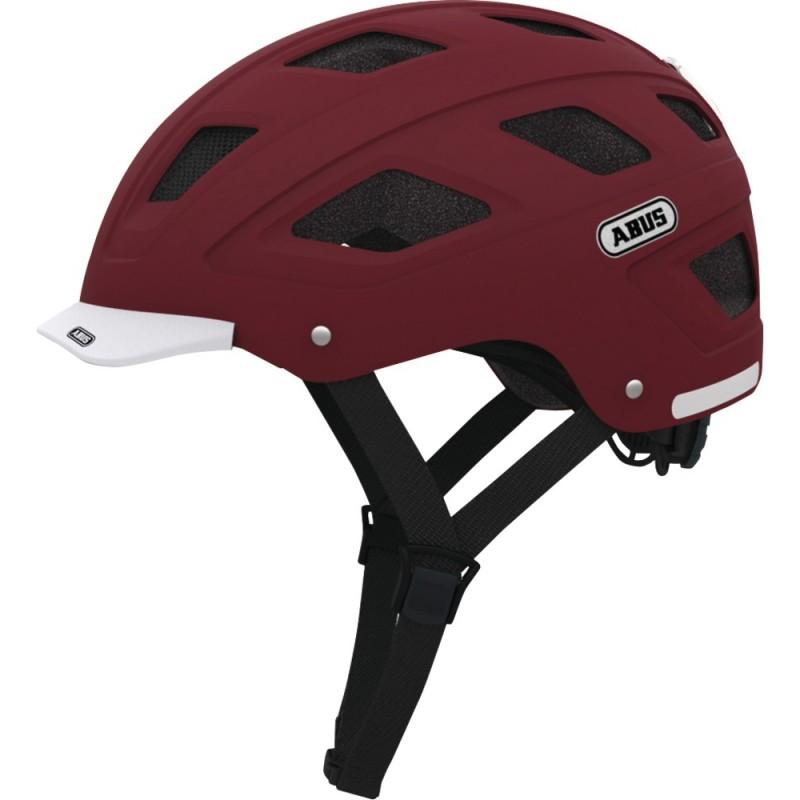Abus Hyban Bike Helmet Marsala Red,M