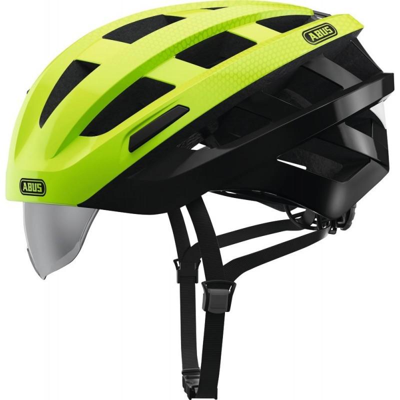 Abus In-Vizz Bike Helmet Green Comb,M