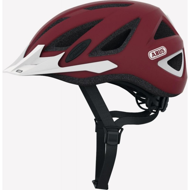 Abus Urban-I 2.0 Bike Helmet marsala red,M