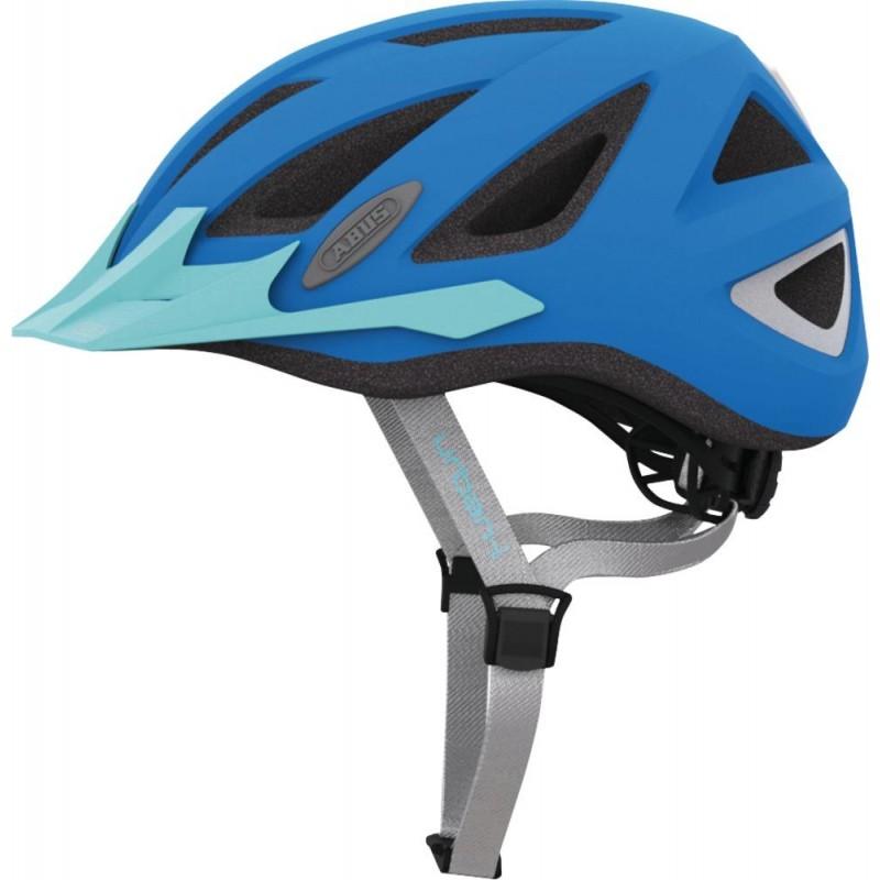 Abus Urban-I 2.0 Bike Helmet Neon Blue,M