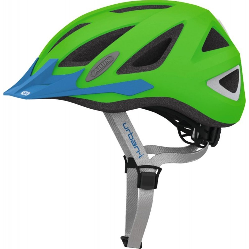 Abus Urban-I 2.0 Bike Helmet Neon Green,M
