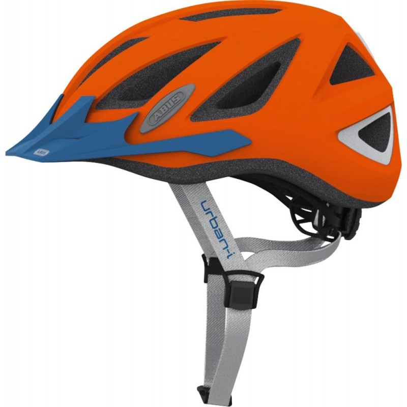 Abus Urban-I 2.0 Bike Helmet Neon Orange,M