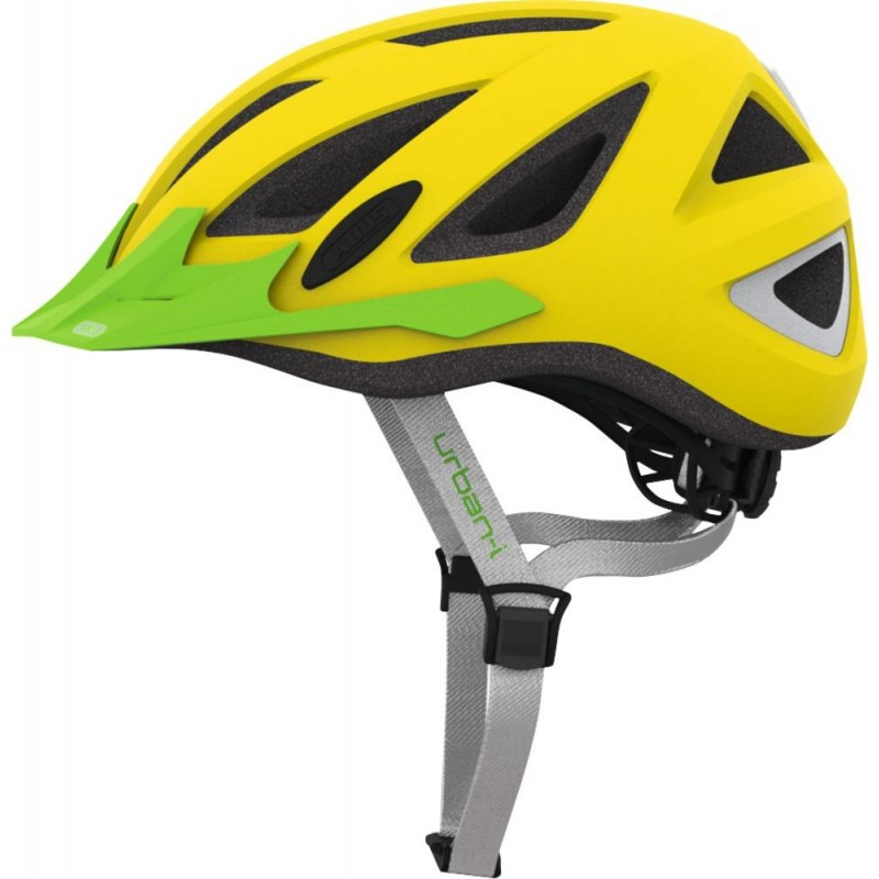 Abus Urban-I 2.0 Bike Helmet Neon Yellow,M