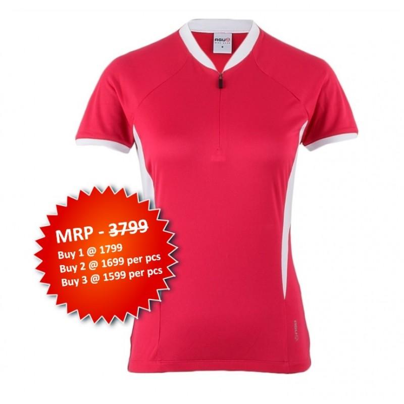 AGU SS Monate Womens Cycling Jersey Pink