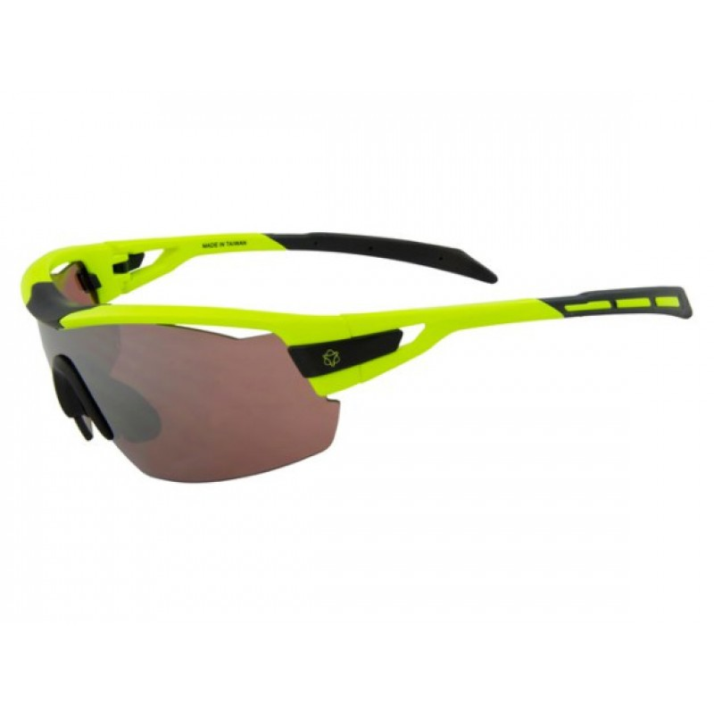 AGU Foss Shield HD Glasses Fluo Yellow