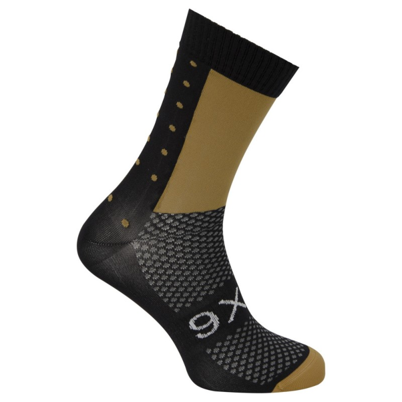 AGU SIX6 Men Cycling Socks Black