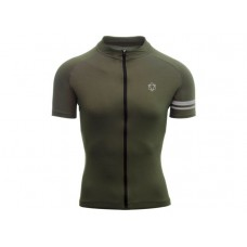 AGU SS Essential Men Cycling Jersey Army Green