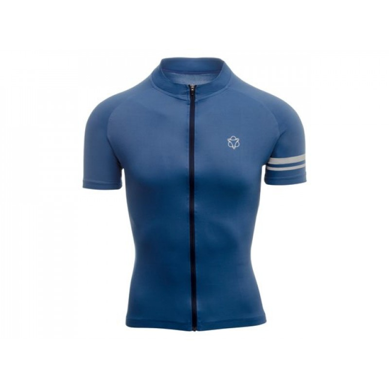 AGU SS Essential Men Cycling Jersey Rebel Blue